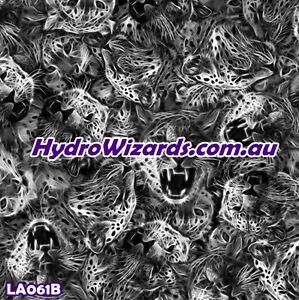 1m² Hydrographic, Hydro Dip Water Transfer Print Graphic, ANIMAL PRINT LA061B