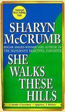SHE WALKS THESE HILLS by Sharyn McCrumb (2000, Cassette, Abridged)  (2936)