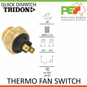 New * TRIDON * Thermo Fan Switch For Land Rover Discovery ML, BL - 3.9L