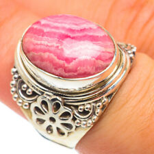 Rhodochrosite 925 Sterling Silver Ring Size 7.25 Ana Co Jewelry R68218
