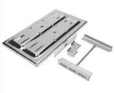 """Universal Battery Tray Kit - Stainless Steel 13-1/4 x 7-1/2"""" w/ Hold-downs R9323"""