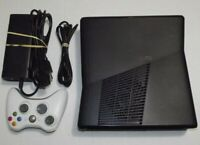 Complete Bundle Microsoft Xbox 360 Slim S 4GB Black Tested Working 1439