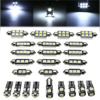 25pcs 12V Auto Bombillas LED de Interior Blanco Kit para BMW X5 E70 M 2007-2013