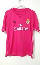WORLD CUP REAL MADRID ADIDAS soccer jersey FLY EMIRATES #10 JAMES mens M medium
