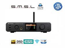 SMSL DP3 DSD DAC NETWORK PLAYER SERVER NETZWERK DA WANDLER USB APTX BLUETOOTH