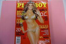 NEW Play B Magazine August 2006 Nicole Voss Denis Leary Luke Wilson Rocky Rakov