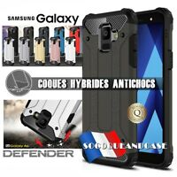 Etui Coque housse Antichoc Defender Shockproof cover Samsung Galaxy A6, A6+ 2018