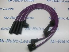 PURPLE 8MM IGNITION LEADS WILL FIT VAUXHALL NOVA 1.4 1.3 LUCAS DISTRIBUTOR HT...