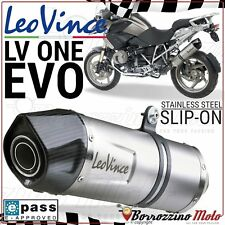 POT SILENCIEUX LEOVINCE LV ONE EVO INOX APPROUVE e9 BMW R 1200 GS 2011