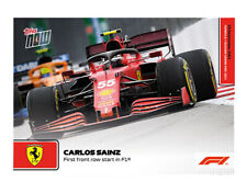 Topps Now Formel 1 F1 - Carlos Sainz First front row start (Pre-Order)