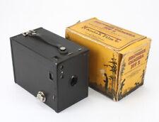KODAK EASTMAN BROWNIE NO. 2, TORN BOX, STIFF SHUTTER RELEASE/cks/195120