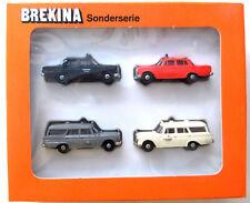 Set Brekina  4 Mercedes PKWs HO 1:87 #1334