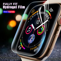 2X Hydrogel soft Screen Protector Film For Apple Watch Series 6 iWatch SE 2020