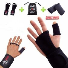 Workout Training Gloves Crossfit Weight Lifting Wrist Fitness Wrap Strap Gym Fit