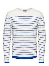 Jersey de hombre azul 100% algodón