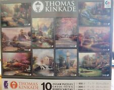 Ceaco Thomas Kinkade 10 In 1 Jigsaw Puzzles 🧩 Multi Pack