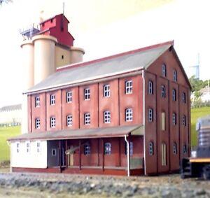 Temora Flour Mill HO Scale 1:87 laser cut kit