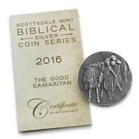 2016 2 oz .999 Silver Coin - The Good Samaritan - Biblical Coin Series #A493