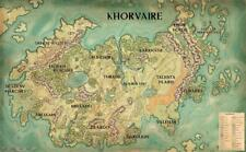 The Continent Of Khorvaire Eberron Dungeons & Dragons Map Poster 36x24 40x27""