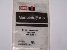 Case IH J I Case Genuine Parts 2 new in package 380499R1 split Washers