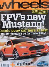 Wheels Magazine August 2013 FPV's New Mustang! 20% Bulk Magazine Discount
