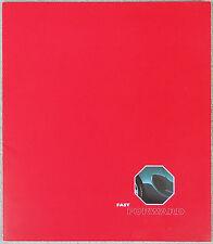 MG MGF introduction brochure 1995