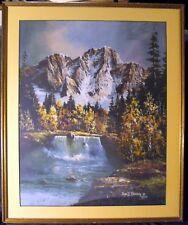 Tom T Dooley vintage framed hand signed print