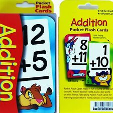 Educational Flash Cards - Addition