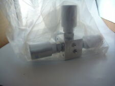 Parker Veriflo 917AOPLPNCS5698, 4-Way Diaphragm Valve, Normally Closed Air Op.