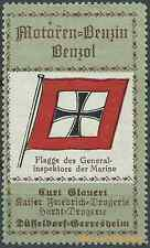 Reklamemarke Düsseldorf-Drogerie Kurt Glauert, Flagge: Generalinspektor (#25906)