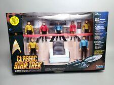 1993 Star Trek TOS Enterprise Bridge Crew 7-Figure Set, Sealed – Playmates 6090