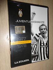 DVD JUVENTUSIASMANTE 1977-1978 TRAPATTONI SI RIVEDE JUVENTUS FC LA STAMPA