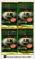 2000 Select NRL Trading Cards Inaugural Series Losse Packs Unit of 36 PKS-RARE