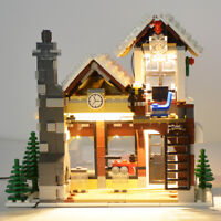 LED Light Kit For LEGO 10249 Winter Village Building Blocks Toy DIY Lighting