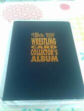 WWF Card Classic 1991 Empty Album Hasbro