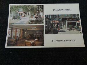 St Aubyn Hotel St Aubin Jersey Postcard - 42359