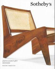 Sotheby's 20th Century Design Art Auction Catalog March 2015