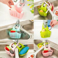 Organiser Kitchen Sink Hanging Caddy Basket Dish Cleaning Sponge Holder Scrubber