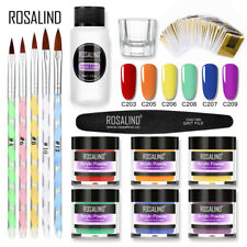 Nail Dipping Powder Gel Acrylic Liquid Glitter Dip System Manicure Starter Set