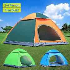 3-4 Person Waterproof Tent Camping Sport Outdoor Beach Hiking Automatic Instant