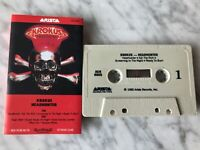 Krokus Headhunter Cassette Tape 1983 Arista AC8-8005 Eat The Rich RARE! OOP!