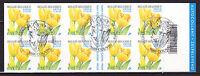 Belgique - Carnet de 2003 adhésif oblit. 1er jour (Tulipe Jaune)