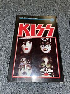 KISS - Lato Side/Musicalibro Italian Book (1983)