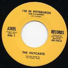 "OUTCASTS ""I'M IN PITTSBURGH"" RE KILLER TEXAS GARAGE 1966"