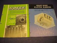 Electric Fan 1950's Catalog 6 Lot ILG Electric Joy L J Wing Fasco Trade-Wind