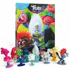 Dreamworks Trolls World Tour My Busy Book figurines & playmates **NEW**