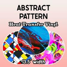 """Abstract Patterned HTV (13.5"""" x 12"""") **FREE SHIPPING**"""