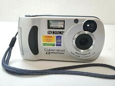 Sony Cyber Shot Digital Camera DSC-P31, w/ Memory Card, Zoom, Pictures, Photos,