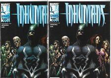 Inhumans #1 Lot of 2 (September 1999, Marvel Comics)