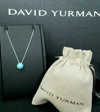 David Yurman Chatelaine Pendant Necklace with Turquoise